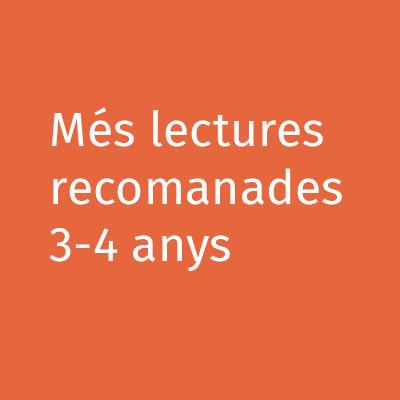 Més lectures recomanades 3-4 anys